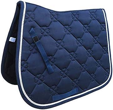 JNT AD-All Purpose Caliente de una Silla Pad Hípica Ecuestre Silla Pad for Hípica Equipos Mostrar Rendimiento de los Saltos (Color : Azul)