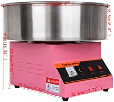 ridgeyard máquina eléctrica para hacer algodón de azúcar, 1300 W ...
