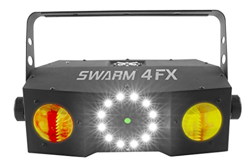 CHAUVET DJ LED Lighting, BLACK (SWARM4FX) ()