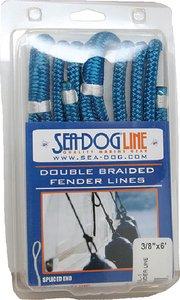 3/8 X 6FT NAVY Double Braided Nylon Fender Line (Seadog)