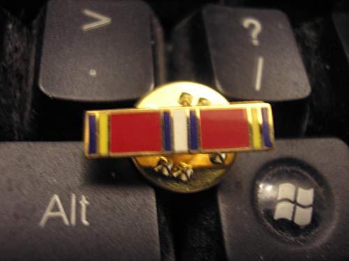 Handsome Enamel Lapel pins - Military Medal Lapel PIN - U. S. Coast Guard Reserve Good Conduct Medal - Unique Pins and Brooches