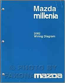 [SCHEMATICS_43NM]  2002 Mazda Millenia Wiring Diagram Manual Original: Mazda: Amazon.com: Books | Mazda Millenia Wiring Diagram |  | Amazon.com