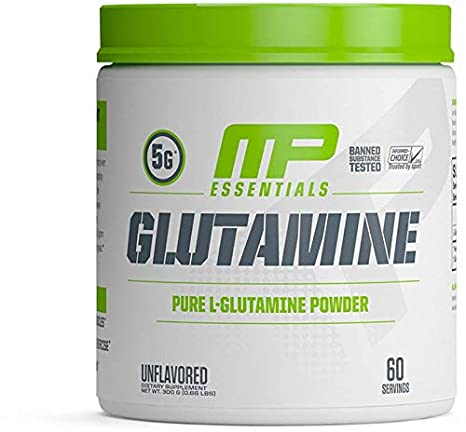 Musclepharm Glutamine (300Gm) L-Glutamine at amazon
