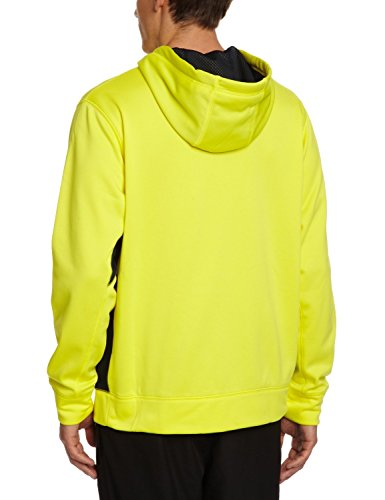 Nike Therma-FIT Swoosh Full zip training hoodie-volt-large