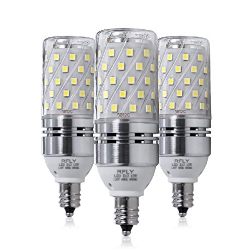 led candelabra bulb cool white - 3