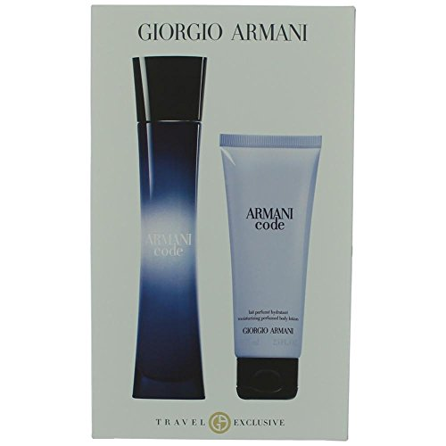(Giorgio Armani Code 2 Piece Set For Women (Packaging May Vary))