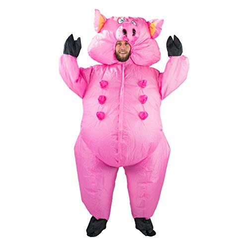 Bodysocks Adult Inflatable Pig Fancy Dress