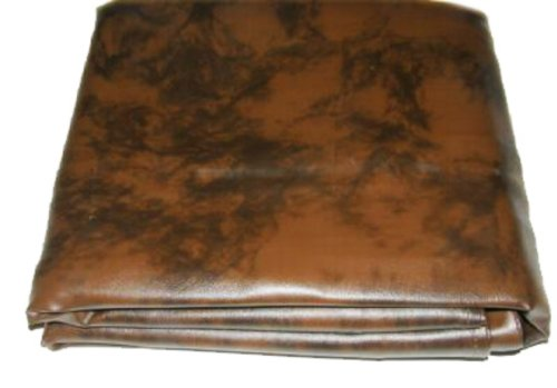 Pool Billiard Table (8-Foot Heavy Duty Pool Table Billiard Cover, Amber)