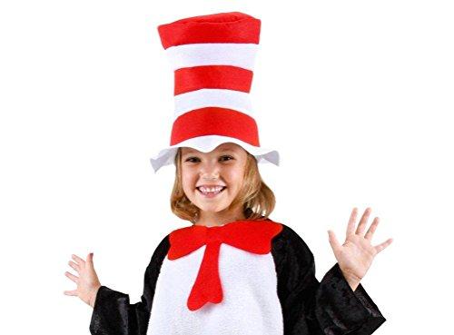 Bliss Pro's Custom CHILDREN'S Dr. Seuss's Cat in the Hat, Hat + Bow Tie (Kids Super Fro Wig)