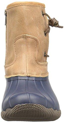 Sperry Top-sider Womens Saltwater Pearl Stivali Da Pioggia Stagionali Navy / Tan
