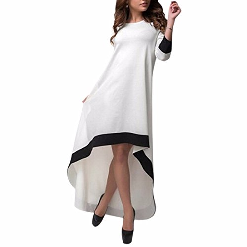 Fashion Solid Color Peacock Tail Big Swing lache Dress Women Casual Jupe longue