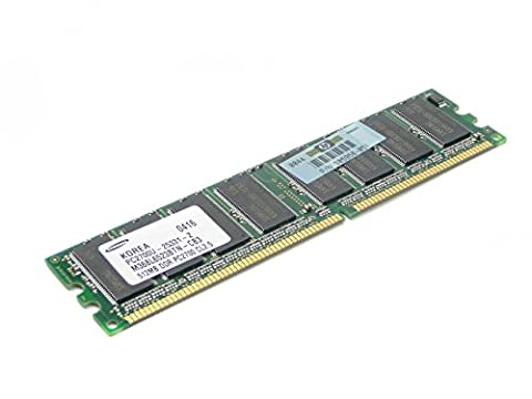 HP Genuine 512MB 333Mhz PC2700 DDR CL2.5 Non-Ecc SDRAM Memory Module Business PC D530 SFF USDT D320 D330 MT D230 D325 D240 D228 RP5000 Point-Of-Sale DC5000 DX2000 - Refurbished - - Rp5000 Point Of Sale Pc