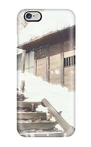 High Impact Dirt/shock Proof Case Cover For iphone 5C (sayonara Zetsubou Sensei Snow Artwork Anime Umbrellas Japanese Kantoku Kimura Kaere Wide Sleeves)