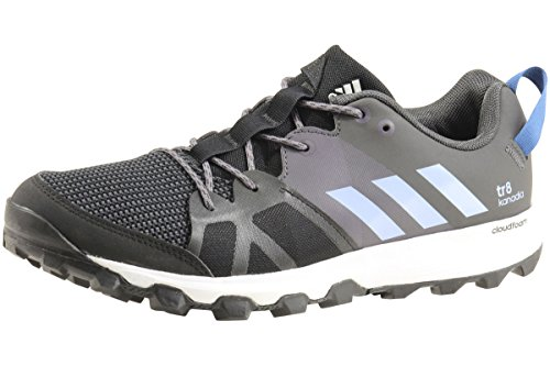 low cost 61c49 4fc1a Galleon - Adidas Outdoor Mens Kanadia 8 TR Trail Running Shoe, BlackEasy  BlueTrace Grey, 8 M US