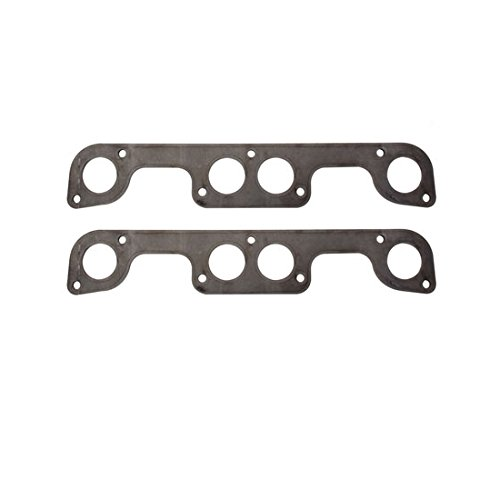 Header Flange Plates, Small Block Fits Chevy Brodix Spread Port, 2 Inch