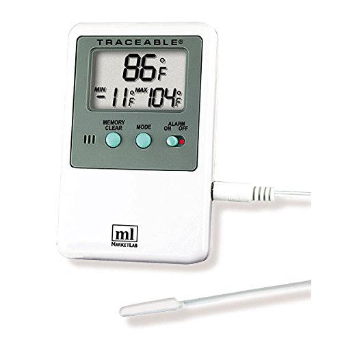 Hi-Lo Alarm Thermometer With Probe Only by CeilBlue
