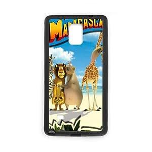 Madagascar Samsung Galaxy Note 4 Cell Phone Case Black T4498118