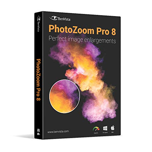 PhotoZoom Pro 8 for Win and Mac OS