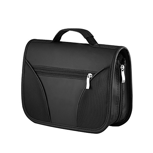 Price comparison product image Durable 120 CD/DVD Black Carrying Case w/ Handle and Outer Pocket