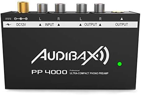 Audibax PP4000 Previo Phono RIAA. Interruptor ON/Off: Amazon.es ...