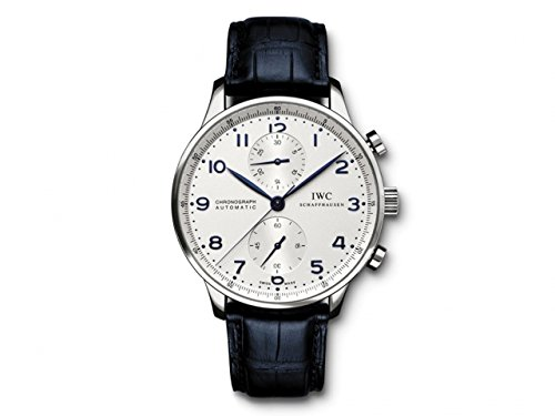 IWC Men's Swiss Automatic and Gold Tone Stainless Steel Casual Watch, Color:Black (Model: IW371446)