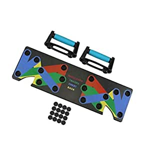 Pannow Push Up Rack Board, 9 in 1 Push-up Stand Body Building Fitness Exercise Tools for Men Women GYM Body Training