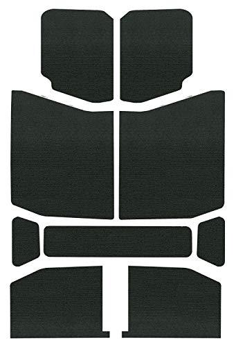 Design Engineering 050168 Boom Mat Sound Deadening Headliner for 4-Door Jeep Wrangler JL (2018-up) - Black