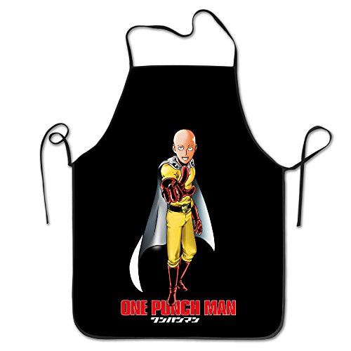 One Punch Man Kitchen Aprons For Women Men (Anpanman Restaurant compare prices)