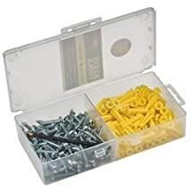 Klein Tools 53729 Conical Anchor Kit with 100 Fasteners