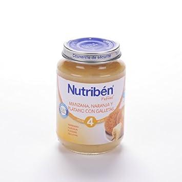 NUTRIBEN POTITO JUNIOR MANZANA NARANJA PLATANO GALLETA 200 G: Amazon.es: Salud y cuidado personal
