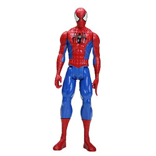 PAPWELL Spiderman Action Figure 12 inch Marvel Legends Hot Toys Avengers Infinity War Avenger Christmas Halloween PVC Collectable Superhero Spider-Man Figures Model Toy Gifts Collection Gift for Kids