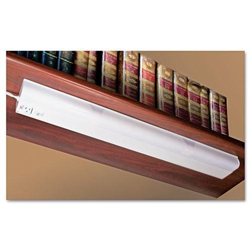 LUXO CORP Under Cabinet Fluorescent Lamp, Steel, White (L9111)