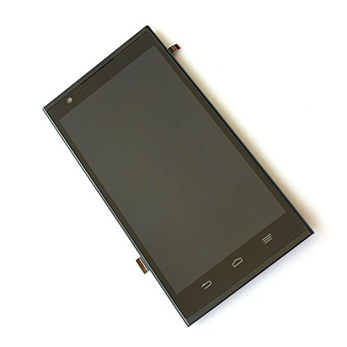 BLY LCD Display Touch Screen Digitizer with Frame For ZTE ZMAX Z970 USA Cell Phones Parts ()
