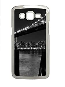 Samsung Galaxy Grand 2 7106 Cases & Covers -New York 7 Custom PC Hard Case Cover for Samsung Galaxy Grand 2 7106¨C Transparent