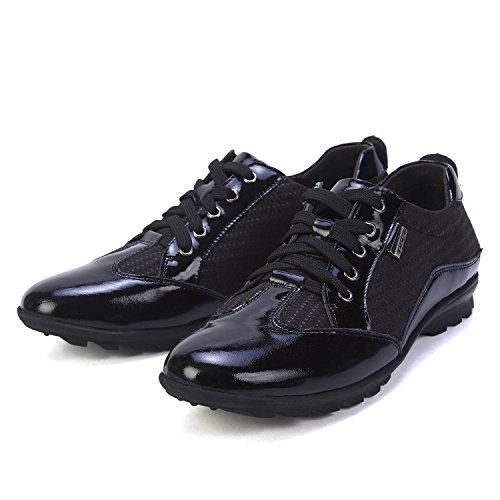 Ne. bomrvii pour homme à lacets Business en cuir noir Derby Chaussures
