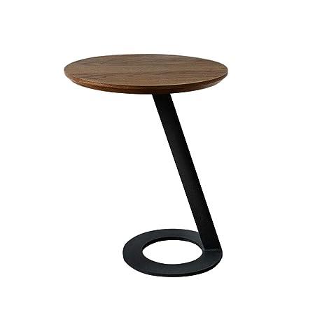 Folding table Nan Mesa Auxiliar Redonda Estilo nórdico Mesa en ...