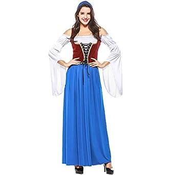 Amazon.com: sxgyubt Women Oktoberfest Costume Dress Adult ...