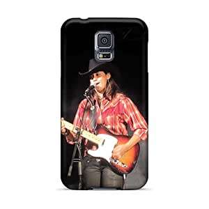 Samsung Galaxy S5 HbS10415eHWv Allow Personal Design Vivid Red Hot Chili Peppers Skin Shockproof Hard Cell-phone Cases -MansourMurray