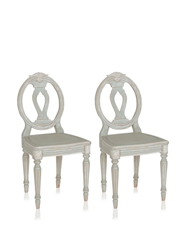 Chateau Dining Chair (NuLoom Katie french chateau style Fluted Dining Chairs (Set of 2))