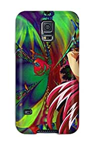 Tpu Shockproof/dirt-proof Cat Girl Nuku Nuku Cover Case For Galaxy(s5) by icecream design