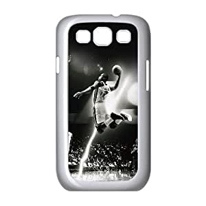 Samsung Galaxy S3 9300 Cell Phone Case White Sport Basketball Hoop Ball Player Cool For Guys OJ483229