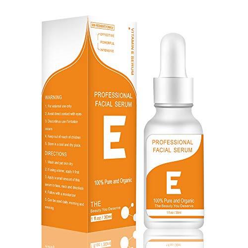 K.Sang Vitamin E Oil Serum For Face, Moisturizing & Wrinkle Resistance Facial Serum, 1 Fl Oz