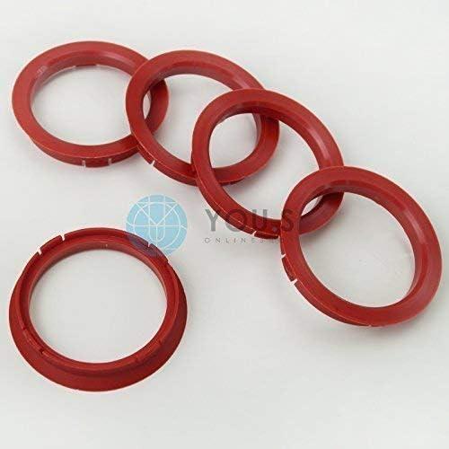 DBV Schmidt Revolution 5 X Bagues de Centrage Bague DEntretoise pour Jantes Alu FZ22 74,1-64,1 mm CMS Proline Roues