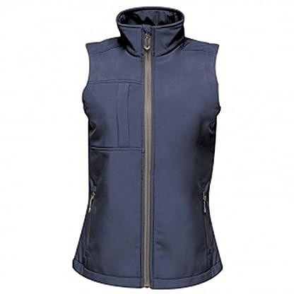 Regatta TRA849 80808L Professional Women's Octagon II 3 Layer Waterproof Softshell Body warmer, Black(Black), 8 4