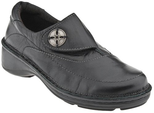 Naot Women's Cedar Orthotic Shoes,Black Madras Leather,42 M EU