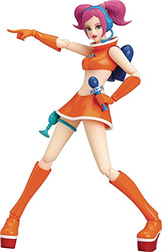 Max Factory Space Channel 5 Ulala (Exciting Orange Version) Figma Action Figure (Dreamcast Light Gun)