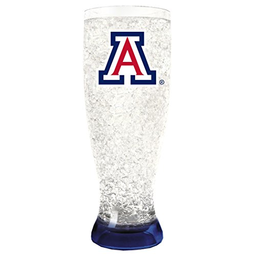 NCAA Arizona Wild Cats 16oz Crystal Freezer Pilsner