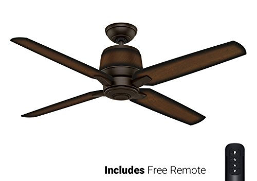 Casablanca Outdoor Ceiling Fan 59124, Aris Brushed Cocoa 54