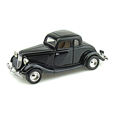 1934 Ford Coupe 1/24 Black: Toys & Games