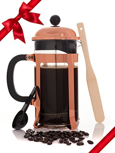 copper-french-coffee-press-and-tea-infuser-heat-toughened-34-ounce-1-liter-glass-carafe-cafe-crush-c